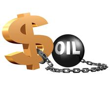 Oil markets Stock Illustration