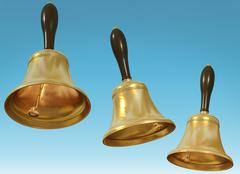 Three bells Stock Illustration
