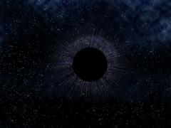 black hole - stock illustration