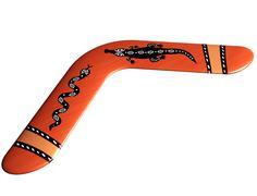 Stock Illustration of aboriginal boomerang