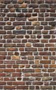 Ancient brick wall texture Stock Photos