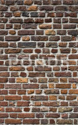 Stock photo of ancient brick wall texture
