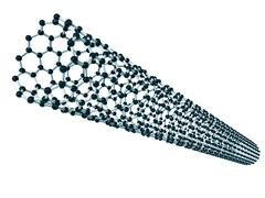 Carbon nanotube Stock Illustration
