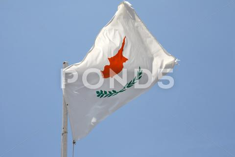 Stock Illustration of cypriot flag