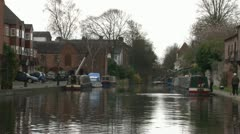 Staffordshire and Worcestershire Canal Stock Footage