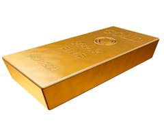 Gold bar Stock Illustration