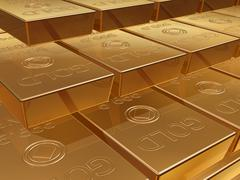 Gold bullion Stock Illustration