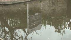 Stourport Basins Sign Stock Footage