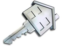Stock Illustration of house key