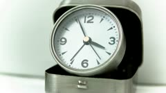 Small Clock Time Lapse Stock Footage