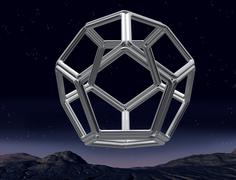 Impossible dodecahedron Stock Illustration