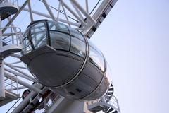 London eye gondola Stock Photos