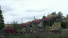 Funfair Rides Stock Footage