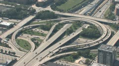 Interchange Aerial Stock Footage