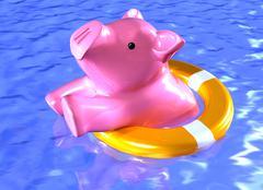 Financial rescue Stock Illustration