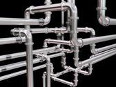Pipeline maze Stock Illustration
