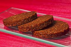 pumpernickel - stock photo