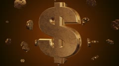 Stock Video Footage of Money