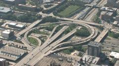 Interchange Aerial Stock Footage