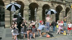 Edinburgh Festival Fringe Stock Footage