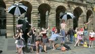 Edinburgh Festival Fringe Stock Footage