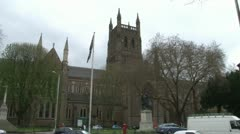 Worcester Cathedral Stock Footage