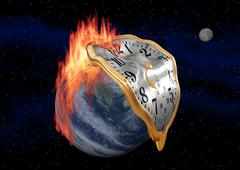 Time is running out. Stock Illustration
