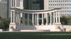 Millenium Monument Stock Footage