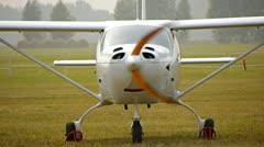 Small fun plane Stock Footage