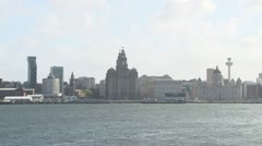 Liverpool Outline Stock Footage