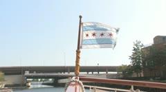 Illionis Flag Stock Footage