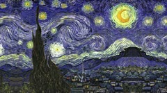 Timelapse The Starry Night Stock Footage