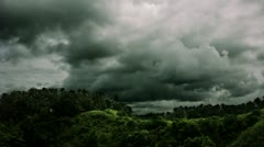 Timelapse Bali valley Stock Footage
