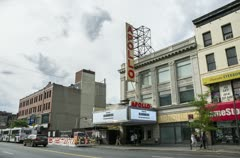 Apollo Theater in Harlem Stock Footage