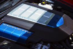 Corvette LS9 Supercharged engine 2206.jpg - stock photo