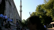 Stock Video Footage of The Blue Mosque in Istanbul, Turkey