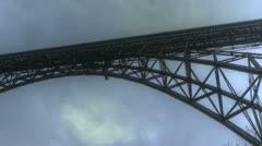 Müngstener Bridge Stock Footage