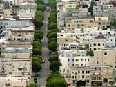 Stock Photo of lombard street san francisco