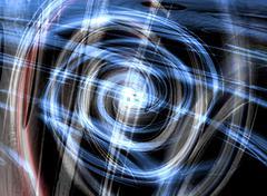 Abstract spiral Stock Illustration