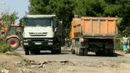 Trucks Stock Footage