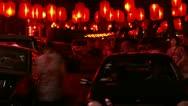 Timelapse Beijing Ghost Street Stock Footage