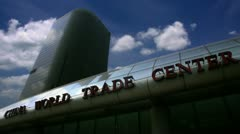 Timelapse China World Trade Centre Stock Footage