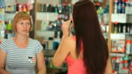 Perfume Shopping Stock Footage