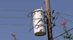 Electrical Transformer HD 02 Stock Footage