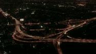 Timelapse Bangkok freeway Stock Footage