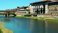 Stock Video Footage of Ponte vecchio