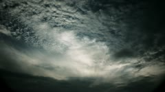 Timelapse altocumulus clouds Stock Footage