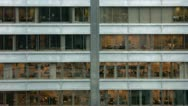 Stock Video Footage of Timelapse office building