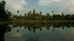 Timelapse Angkor Wat Stock Footage