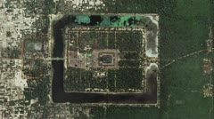 Stock Video Footage of Timelapse Angkor Wat